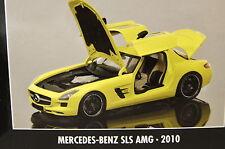 Modellauto MERCEDES SLS AMG 2010 gelb MINICHAMPS 1 18