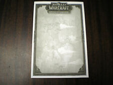 World of Warcraft: Mists of Pandaria Note Pads - 10 Pack   Notepads Pack of 10