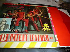 NEW YORK DOLLS RED PATENT LEATHER LP RED VINYL THUNDERS