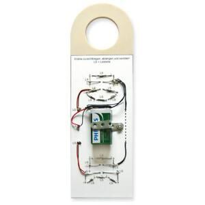 Türhänger Stimmungsbarometer LED-Smiley Elektrobausatz für Kinder ab 11 Jahren
