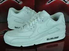 Nike Air Max 90 NikeiD White Leather Sz 8 ID Independence Day AM Multi