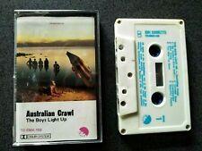 AUSTRALIAN CRAWL THE BOYS LIGHT UP CASSETTE TAPE AUSTRALIA
