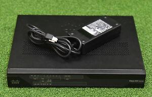 Cisco C897VA-K9 897VA Secure Router w/ VDSL/ADSL+ over POTS + 1GE/SFP - 1 YrWty