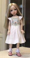 "13"" Boneka Dianna Effner Little Darling Doll White Smocked Dress 33cm sold6"