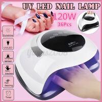 SUN 120W Nail Lamp UV LED Light Professional Dryer Gel Hardening [EU Plug]