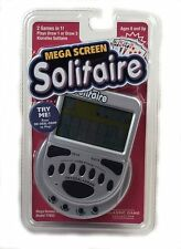 Mega Screen Solitaire Game Electronic Handheld Draw Klondike Travel Games