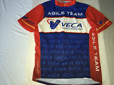 XL Primal Wear Riding Cycling Bicycle Race Jersey 1/2 Zip Team Agile Veca EUC
