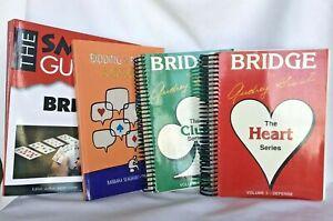 Lot 4 Bridge Heart & Club Series, Bidding Quizbook and Smart Guide to Bridge