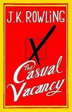 The Casual Vacancy, by J. K. Rowling, New Book