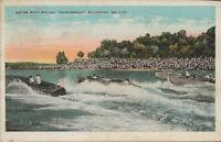 Savannah Georgia Motor Boat Racing Thunderbolt 1930 Vintage Postcard