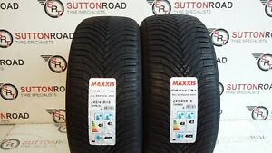 2 X 245/45 18 MAXXIS NEW ALL SEASON AP3 24545ZR18 100W XL TYRES ( B ) WET GRIP