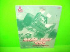 Atari ROAD RIOT 4WD Original 1st Ed Video Arcade Game Service Repair Manual 1991