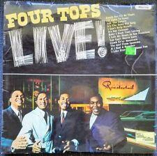 FOUR TOPS LIVE. Monaural British vinyl LP. Tamla Motown. Very good condition