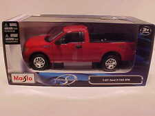 2010 Ford F-150 Pickup Truck STX Die-cast 1:27 Maisto 7.75 inch Similar 1/24 Red