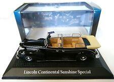 LINCOLN CONTINENTAL SUNSHINE SPEZIAL 1:43 YALTA 1945 NOREV MODELL AUTO DIECAST