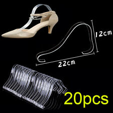 20pcs Acrylic Sandal Shoe Store Retail Shop Display Stand Shoe Supports Shaper