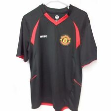 Manchester United Replica black Short sleeve shirt Medium