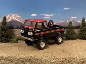 1965 Ford Econoline 4x4 Truck Lifted 1/64 Diecast Custom Van M2 Machines