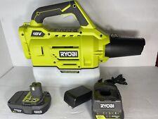 New listing Ryobi One+ 18V Defender Chemical Fogger/Mister W/ 2Ah Battery And Charger