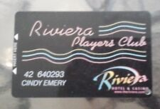 Collectible Riviera Hotel Las Vegas Slot Card