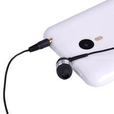 3.5mm Single Side Mono Wire Earphone Earbud Headphone Headset Fit For iPhone