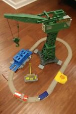 Thomas & Friends Trackmaster Cranky Flynn Save the Day Complete w Magnetic Cargo