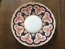 Wileman Pre Shelley 23.5cm Cake Plate in Japan Imari Red & Blue 3931 reg.1884