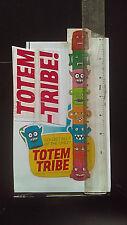 R&L Australian CEREAL TOY Panel Art Colour Repro TOTEM-TRIBE Kelloggs 1971 Pole
