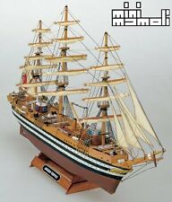 Mini Mamoli Amerigo Vespucci 1:350 (MM10) Escala Modelo Kit De Barco