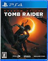 NEW PS4 PlayStation 4 Shadow Of The Tomb Raider 10085 JAPAN IMPORT