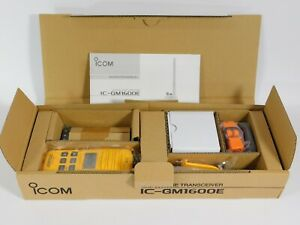 Icom IC-GM1600 GM1600E VHF Marine Transceiver GMDSS Survival Craft Radio (new)