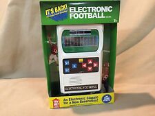 Classic Electronic Football Handheld Game Retro w Improved Sound Effects New