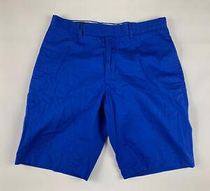 Polo Ralph Lauren Golf Shorts Mens 34 Blue Chino 5 Pockets Zip Fly Classic