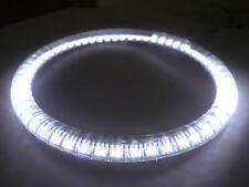 Coppia 2 Angel Eyes Ring Anelli Led Diametro 60mm 12V 2W Bianco Con Tubo Protezi