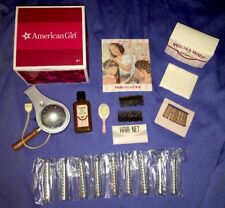 American Girl Molly Curl Kit with Blow Dryer, Perm Wave Solution, Rods, Combs!