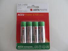 AA  4 x Accu Power  AGFA PHOTO  BATTERY HR6  NiMh-Accu 2300mAh