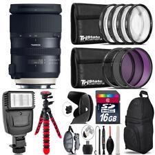 Tamron 24-70mm VC G2 for Nikon + Flash + Tripod & More - 16GB Accessory Kit