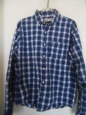 Hollister Plaid  Front Button Long Sleeve Men's Shirt Medium