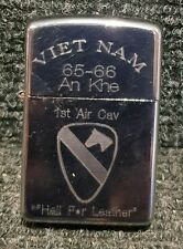 Retro Copy Vietnam War Style Wind Proof Lighter: 1st Air Cavalry