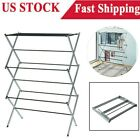 Portable Laundry Clothes Drying Rack 3 Tier Foldable Dryer Hanger Horse Airer US