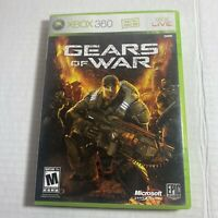 Gears of War (Microsoft Xbox 360, 2006) Complete Video Game Free Ship