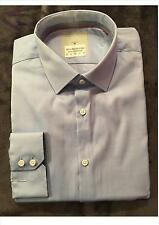 Ex Store Mens Cotton rich, Light Blue shirt - regular fit
