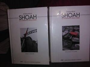 Storia della Shoah. Lo sterminio degli Ebrei. UTET / Repubblica 2 vol. + DVD