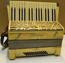 Akkordeon,Ziehharmonika,Fabrikat Hohner VERDI II,wohl um 1950