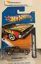 Dixie Challanger #165 * Black w/ Red Line Tires * 2011 Hot Wheels * N166