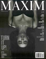 Maxim Magazine May 2015 Sexy CHARLI XCX KRIS KRISTOFFERSON Kurt Cobain  ALISON W