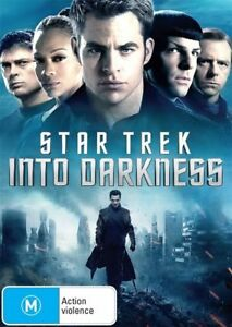 Star Trek - Into Darkness (DVD, 2013)  ds258  Multi region player required