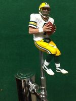 Green Bay PACKERS Tap Handle BRETT FAVRE Beer Keg NFL Football white Jersey