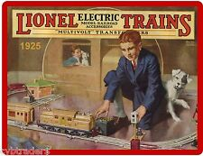 1925 Lionel Train Toy Ad Refrigerator Magnet