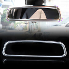 For BMW X3 X5 E70 3 4 Series F30 F32 2012-2015 Chrome Rearview Mirror frame Trim